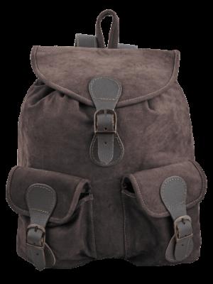 20ltr læder rygsæk retro